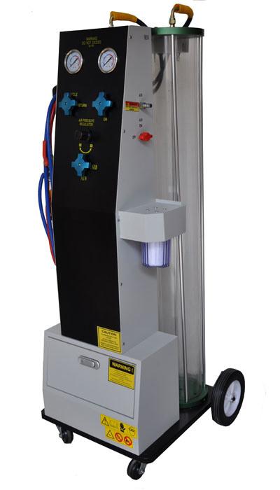 cooling system flush machine