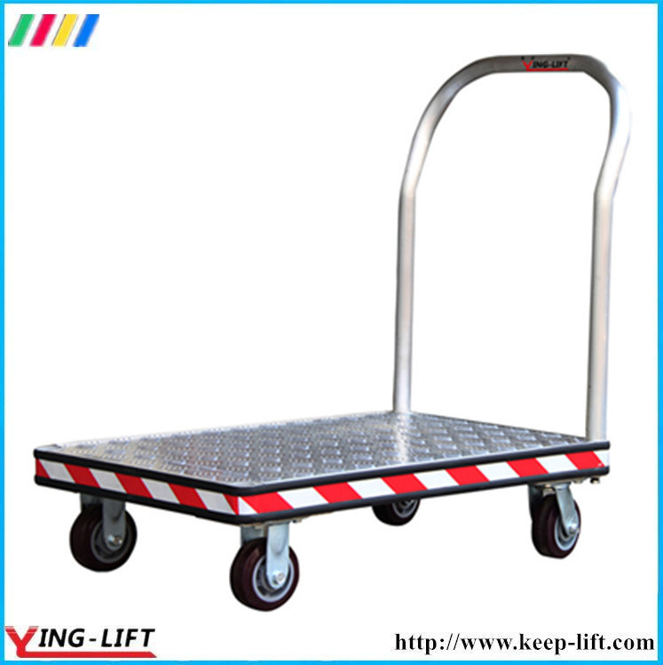 Heavy Duty Aluminum Platform Hand Truck with 4 Wheels Af2448