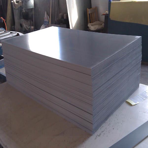 PVC Rigid Plastic Board Extruded Sheets / Black/White/Grey PVC Rigid Plate