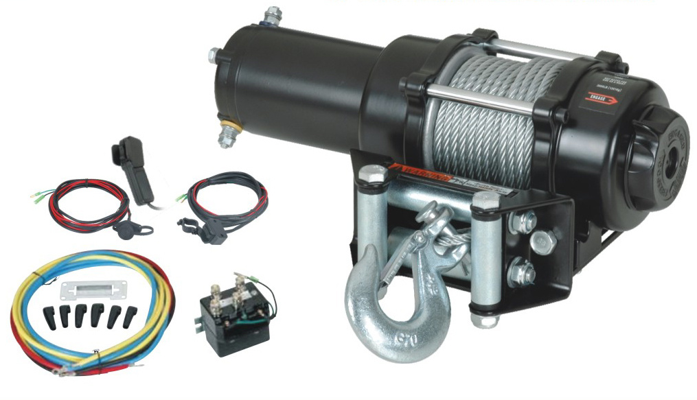 ATV Electric Winch with 4000lb Pulling Capacity (Top-grade Model)