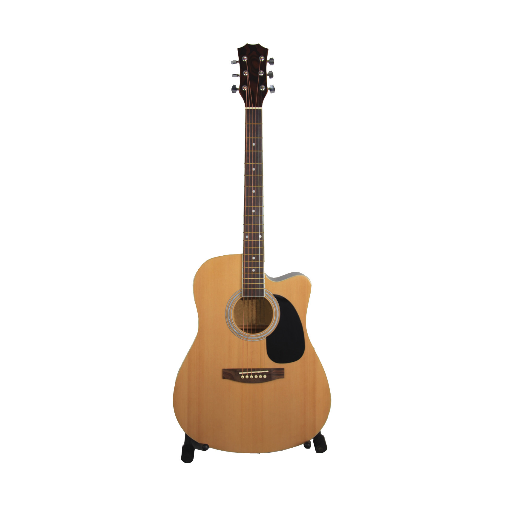 Spruce Bird Maple Pattern Acoustic Guitar (AG-4126C)