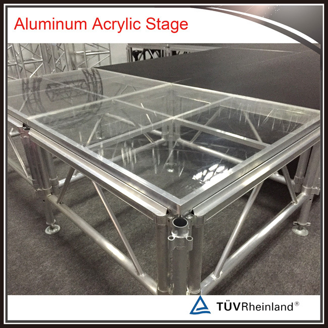 Wholesale Movable Acrylic/Plexiglass Platform Concert Stage