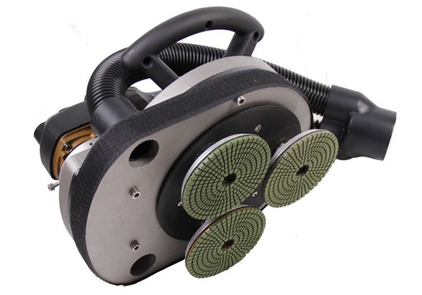 HFG-3018 three head planetary diamond polisher for floor / wall