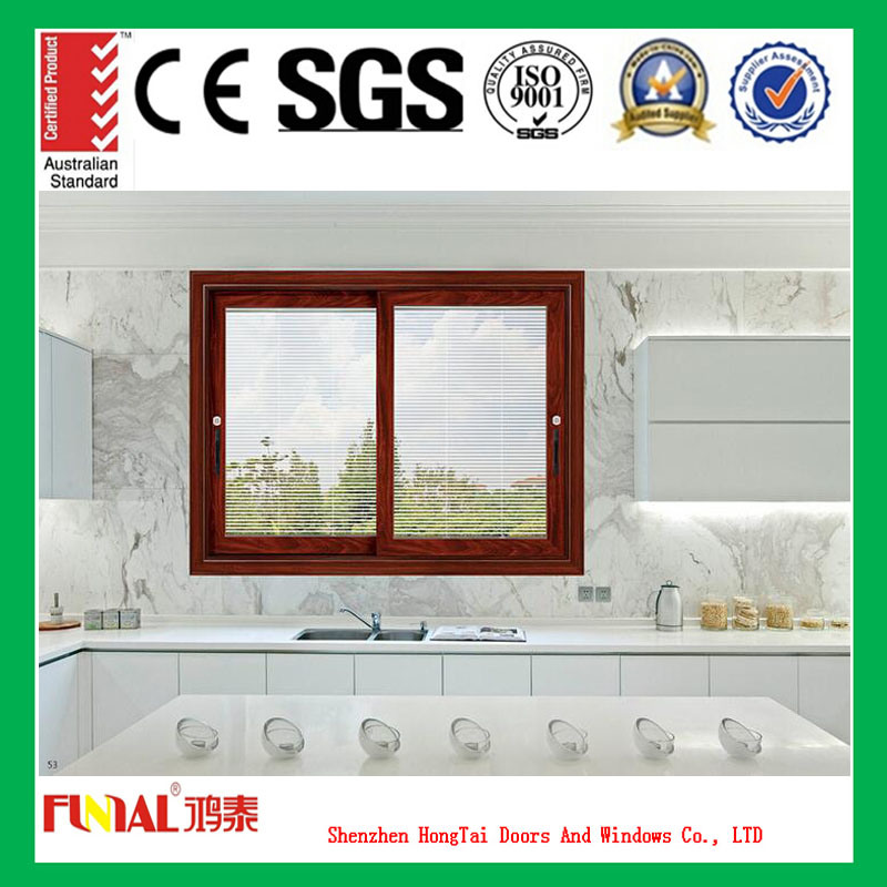 Horizontal Sliding Window with The Sash Sliding Left or Right