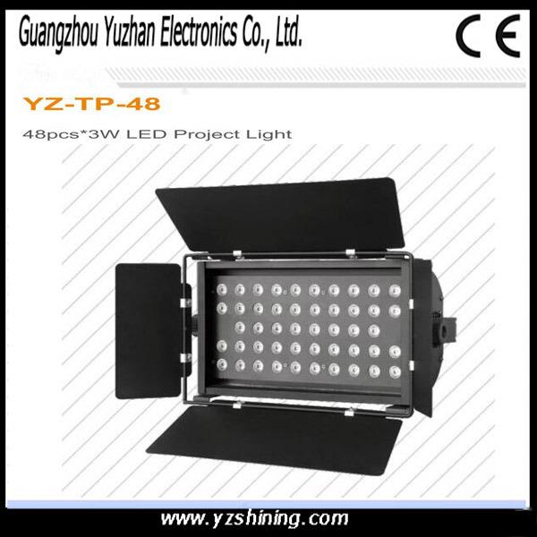 DMX512 LED Stage Lighting 72pcsx3w RGBW Waterproof LED PAR Light