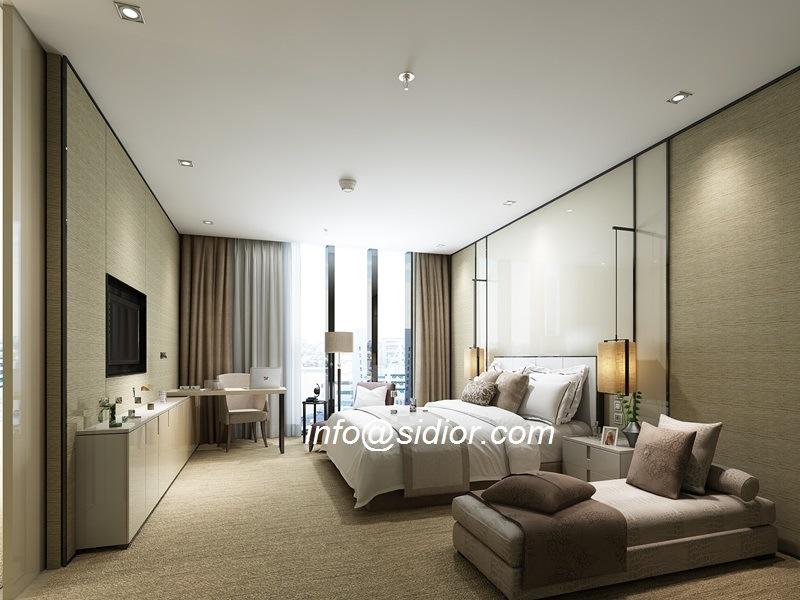 Cl8007 Luxury Villamodern Bed Room Hotelfurniture