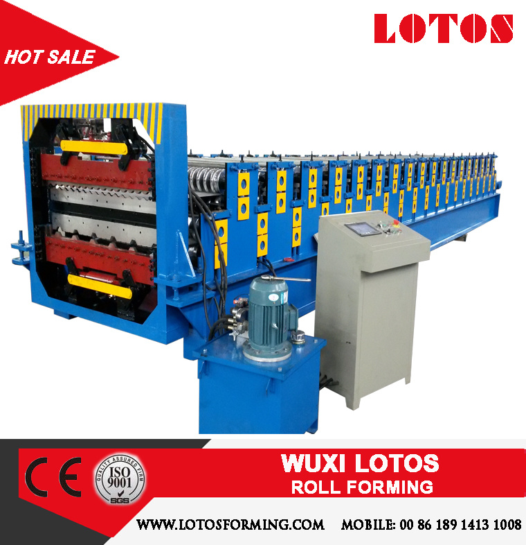 Corrugated and Wall Roof panel Double Layer Roll Forming Machine
