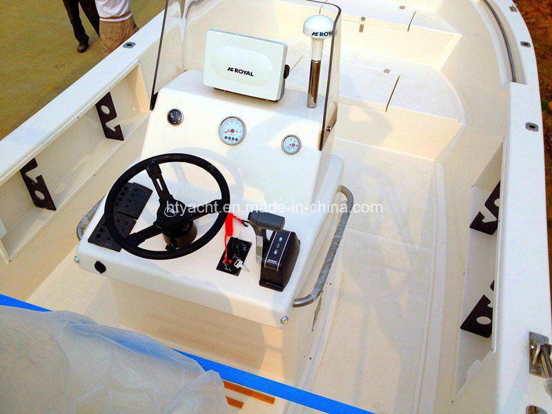 6.85m FRP Japanese Fishing Boat Hangtong Factory-Direct