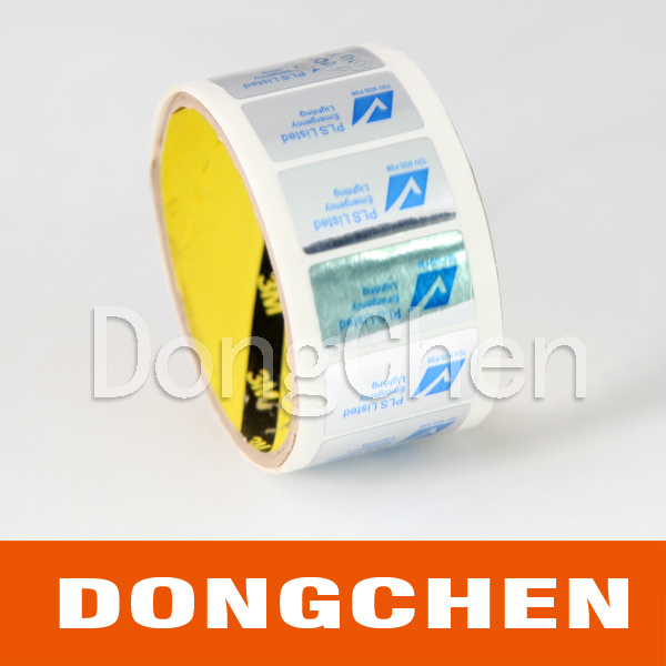 Full Color Printed Self Adhesive PVC Sticker Label
