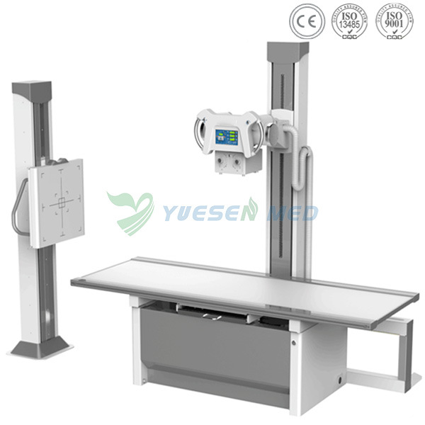 Ysx500d Hospital Medical Fixed Whole Body Parts Checking 500mA 50kw Digital X-ray