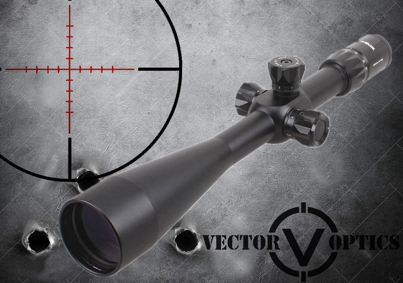Vector Optics Sagittarius 10-40X56 First Focal Plane Tactical Riflescope