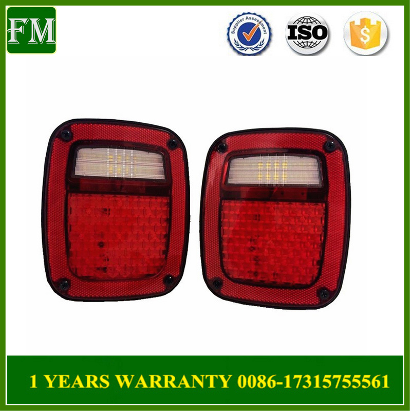 LED Tail Lights Light for Jeep Wrangler Tj 1998-2006 Year