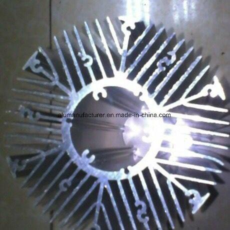 Heat Sink Aluminium Alloy Extrusion Profile for Door and Window