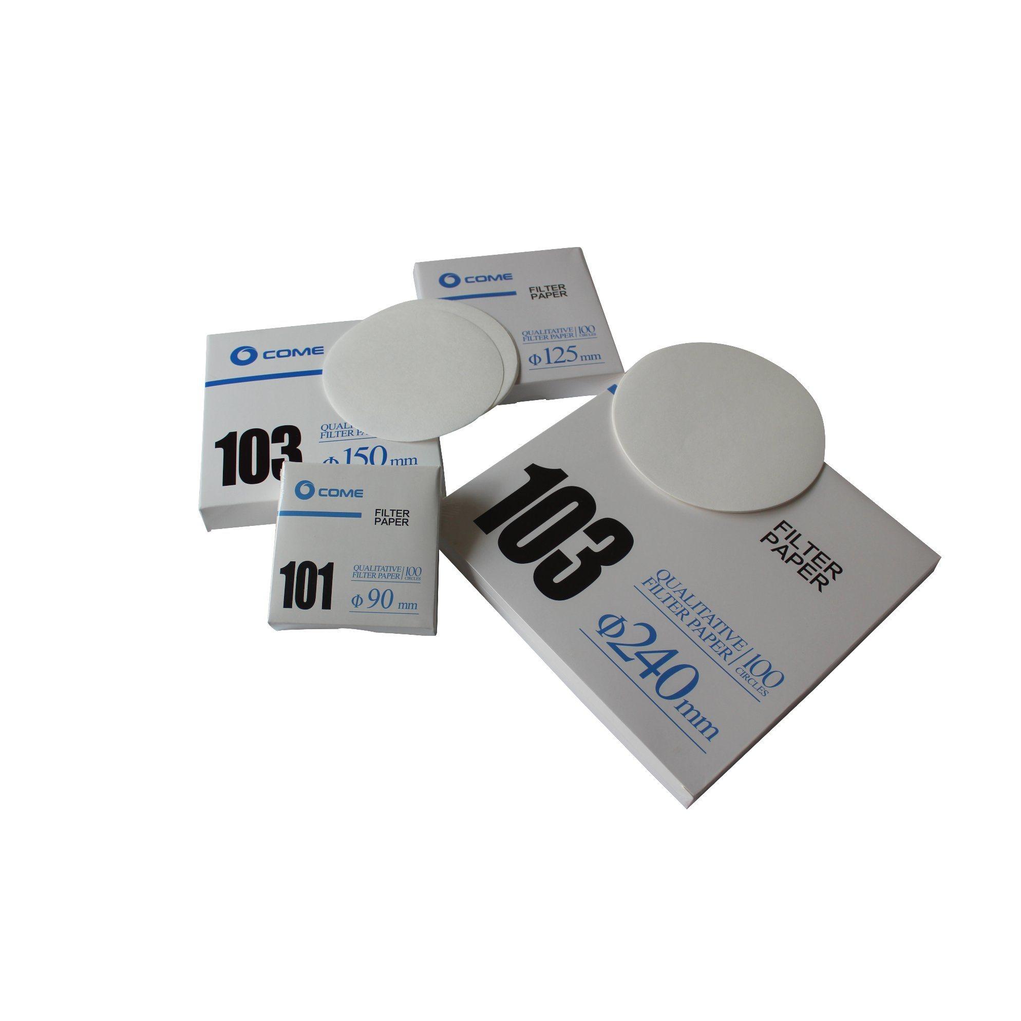 Laboratory Ashless Cotton Cellulose 45mm Quantitative Filter Paper
