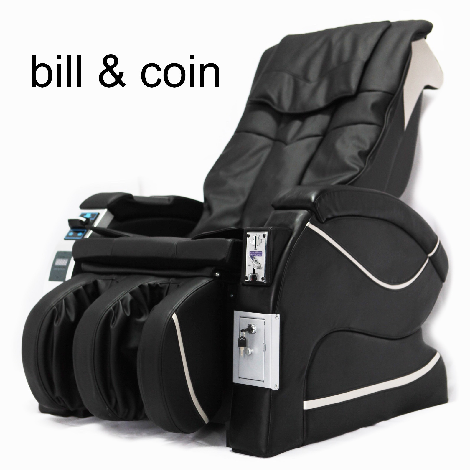 Public Coin Bill Commercial Vending Massage Chair
