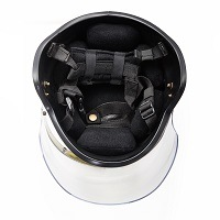 Nij III Kevlar PE Ballistic Bulletproof Helmet with Visor