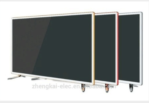 "32""Steel Glass Panel with Metal Cover FHD, Smart Digital LED TV"