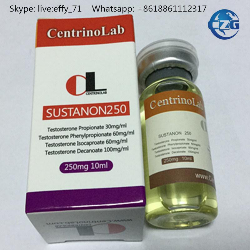 99% Purity Bodybuilding Steroid Hormone Injection Sustanon 250