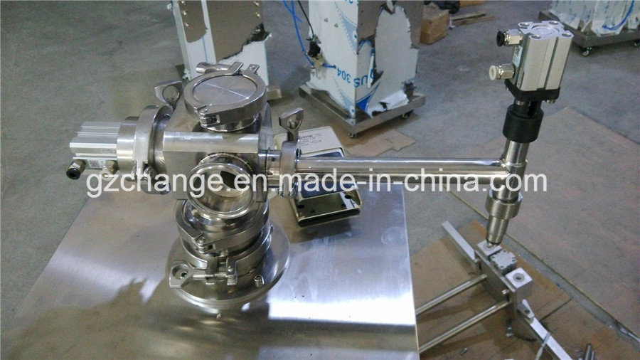 Semi Auto Shampoo Detergent Lotion Cream Filling Machine