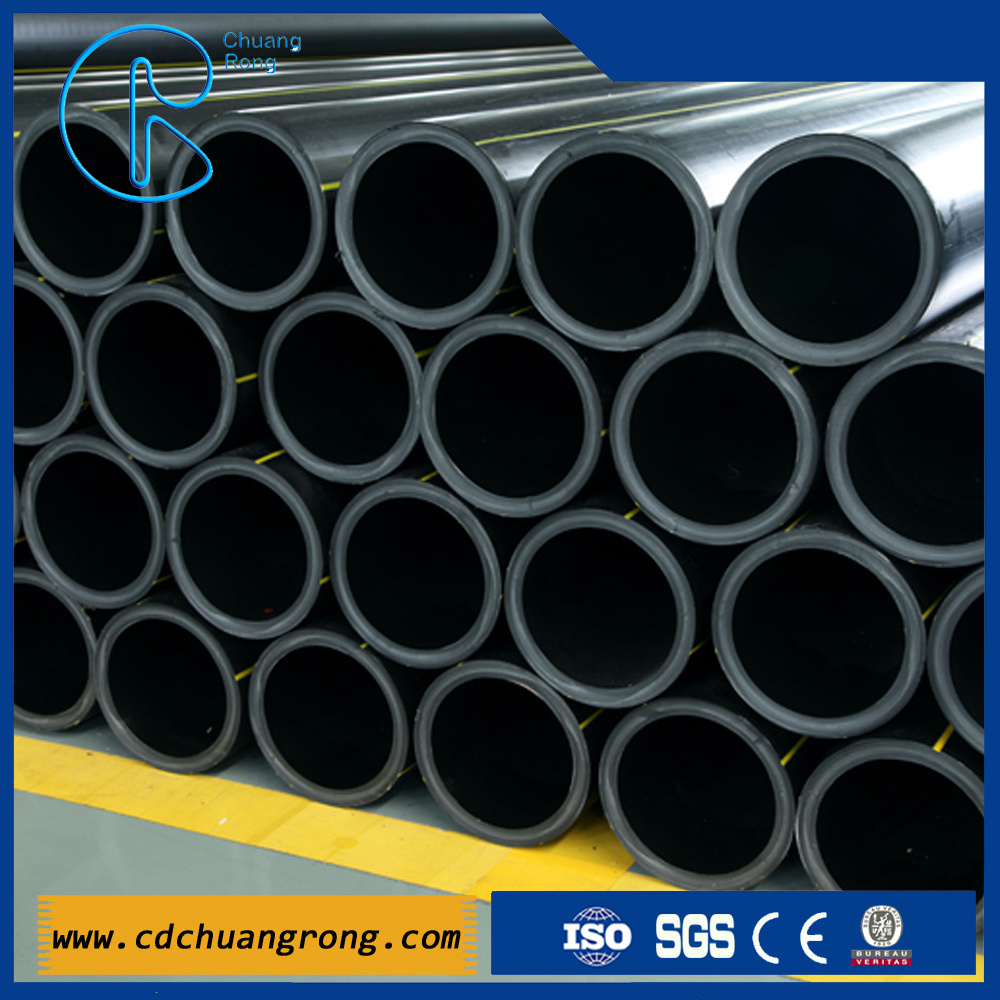 HDPE Gas Supply Polyethylene Plastic Pipe