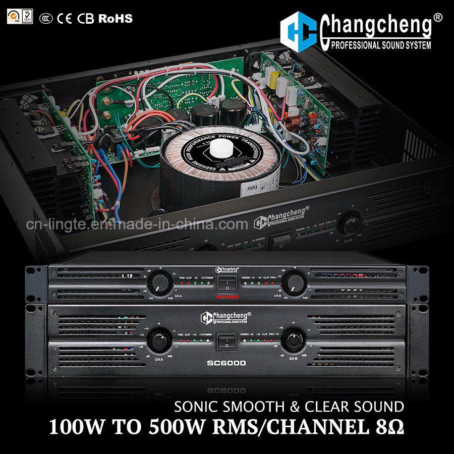 Sc Series 1u Class Ab Professional Power DJ Amplifier