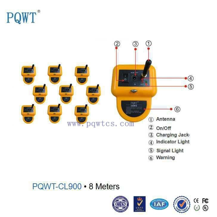 High Accuracy 8m Deep Underground Metal PVC Pipe Leakage Detector