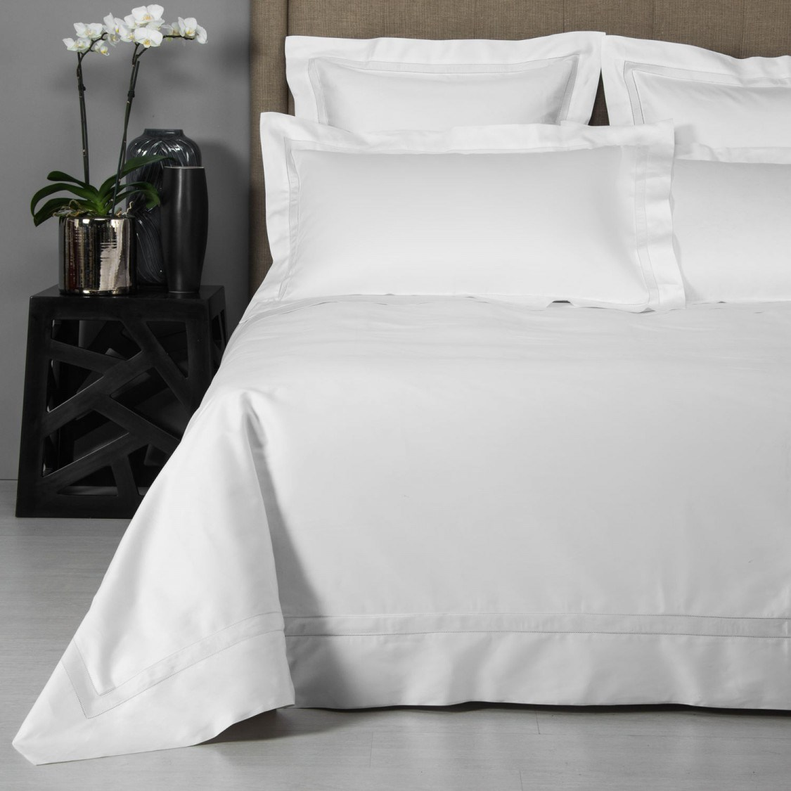 100% Egyptian Cotton Jacquard Hotel Bed Sheet (DPF201509)