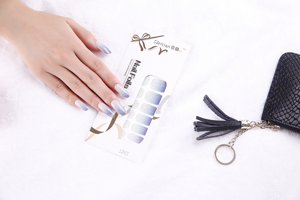 Fashion Temporary adhesive Nail Sticker Art Nail Sticker