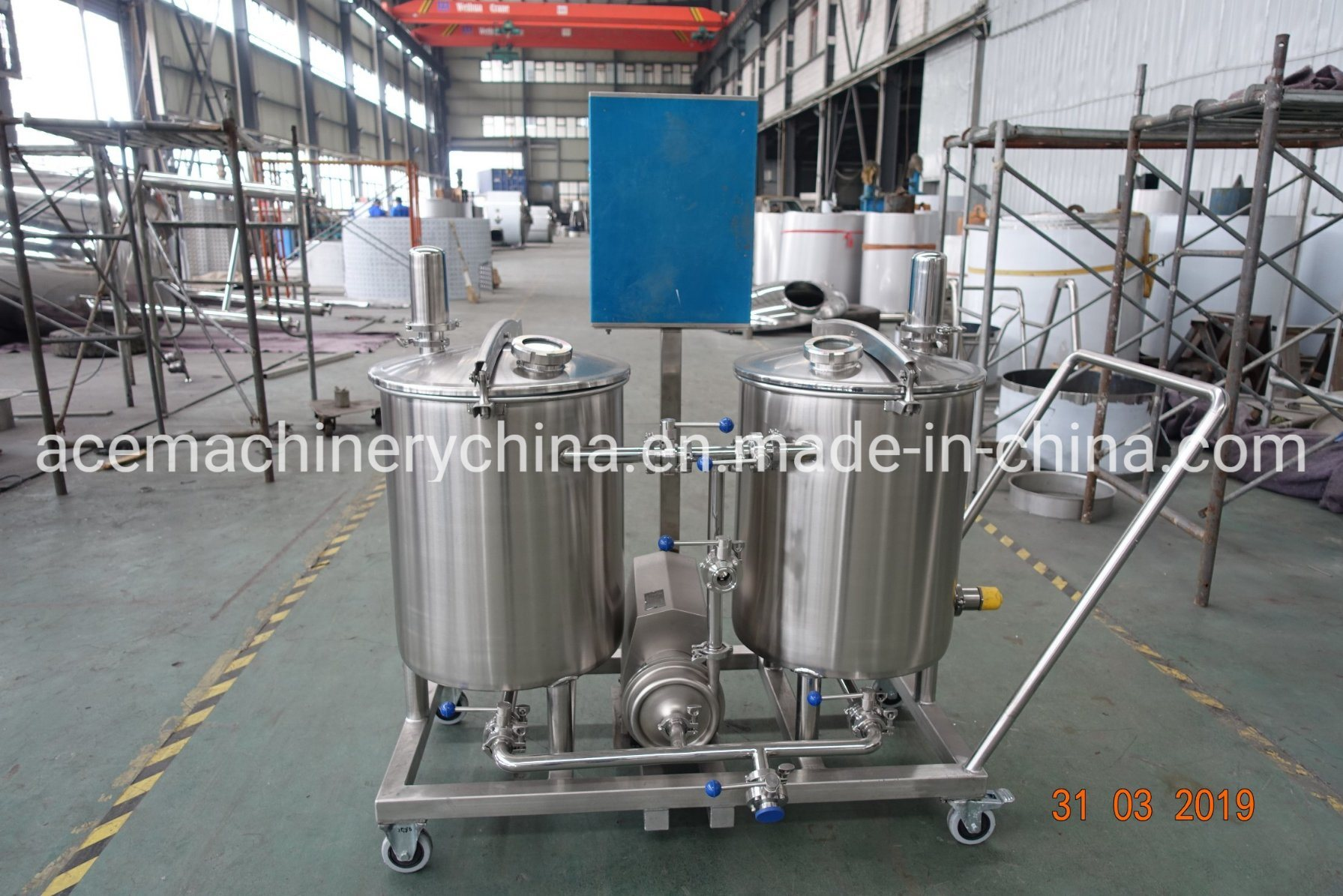 Food Grade High Efficiency Portable CIP Cleaning System/Plant/Mobile System Price pictures & photos