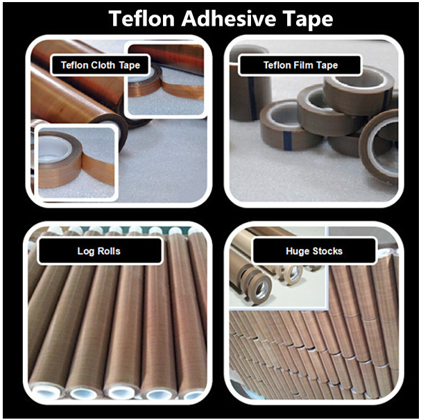 Hot Sale High Temperature Self Adhesive PTFE Film Pure PTFE Adhesive Tape