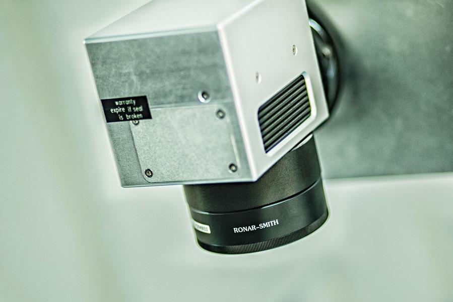 Leadjet CO2 Laser Coding Machine for Pet Bottle