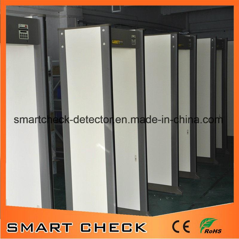 33 Zones Security Metal Detector Portable Metal Detector Walk Through Metal Detector