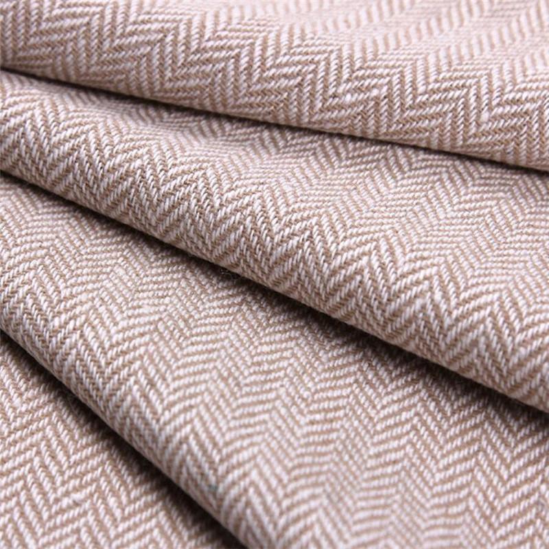 Herringbone Tweed Wool Fabric for Clothing, Textile Fabric, Garment Fabric