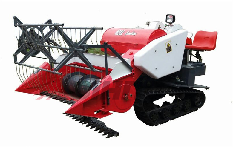 Rice and Wheat Mini Combine Harvester with 1.2m Cutting Width