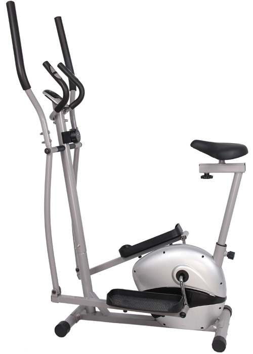 Elliptical Exercise Bike Cardio Fitness Gym Cycling Machine Gym with Seat