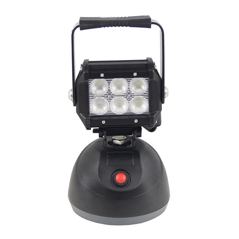 18W LED Emergency Light Bar Battery Powered Work Light