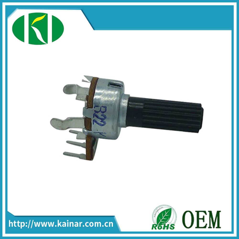 12mm Rotary Volume Potentiometer with 3 Pins Wh12113
