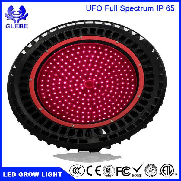 UFO Design IP65 150W 175X3w LED Plant Grow Light UV IR LED Full Spectrum