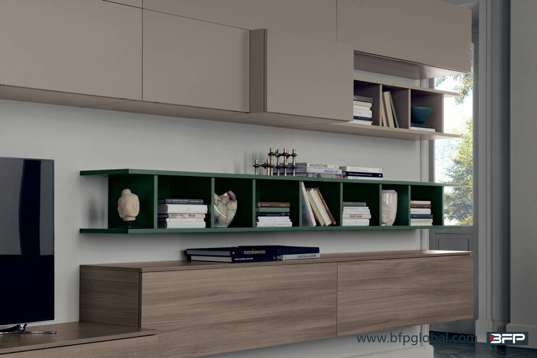 Modern Wood TV Cabinet Living Room Furniture