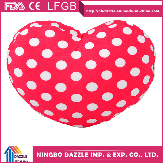 2017 New Design Decorative Red Heart Shaped Pillow