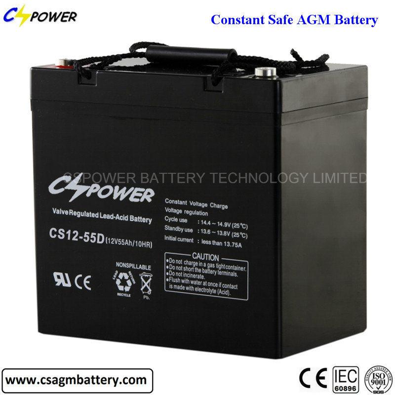 CS12-12 12V 12ah Sealed Lead Acid Rechargeable Battery SLA Battery