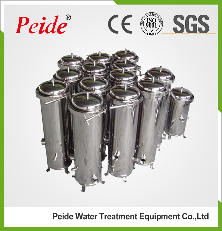 Stainless Steel Micron Multi Cartridge Filter Housing for Water Filtration