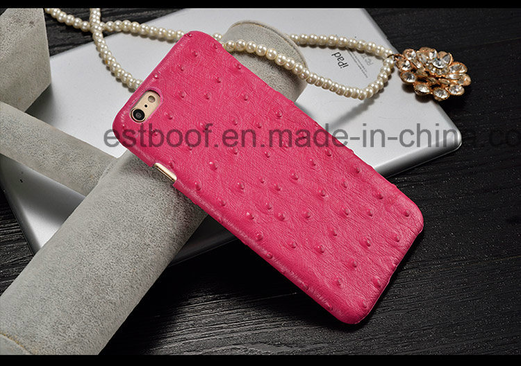 Leather PC Mobile Phone Case for iPhone, Sony, Huawei
