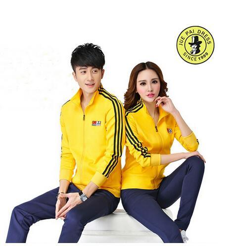 2017 Fashion Men and Women Brand Sport Suits