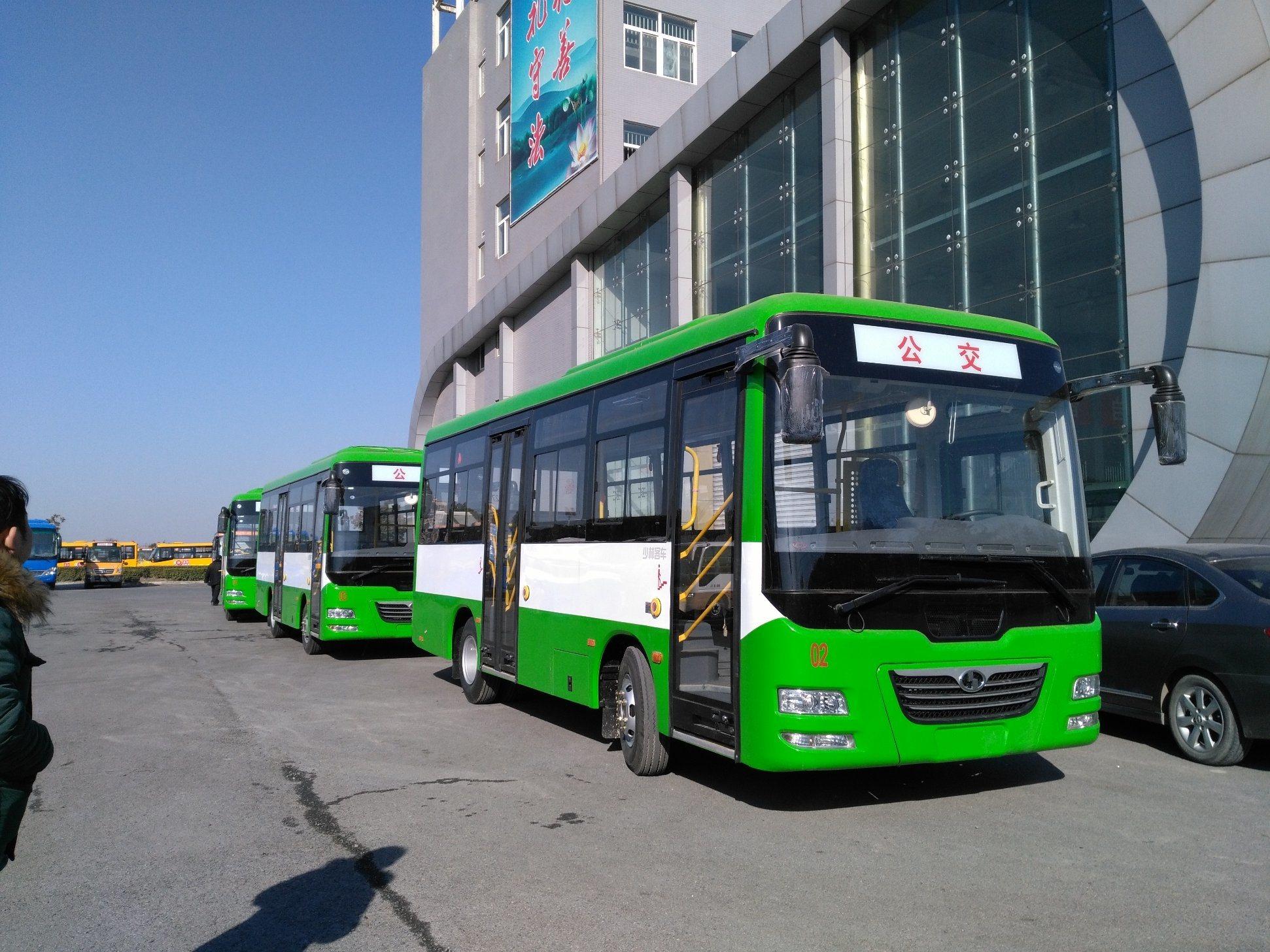 Double-Deck 35-38 Seats Inter-City Bus Diesel City Bus
