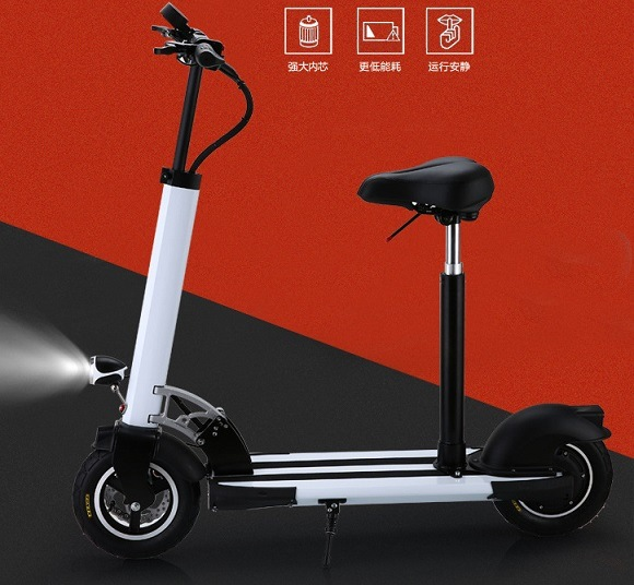 400W Aluminum Electric Scooter with 36V/10.5ah Lithium