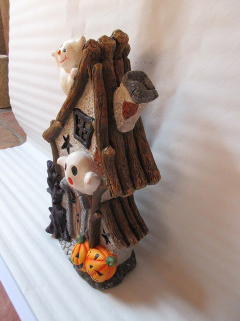 Halloween Decoration House Ceramic Crafts (LOE2268-60)