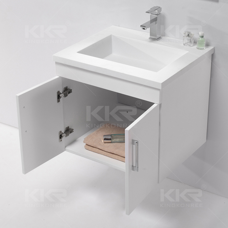 Bathroom Sanitary Ware Stone Cabinet Hand Wash Basin
