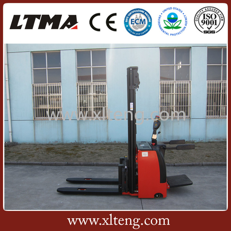 1.5 Ton 3m 4m 6m Lifting Height Electric Pallet Stacker