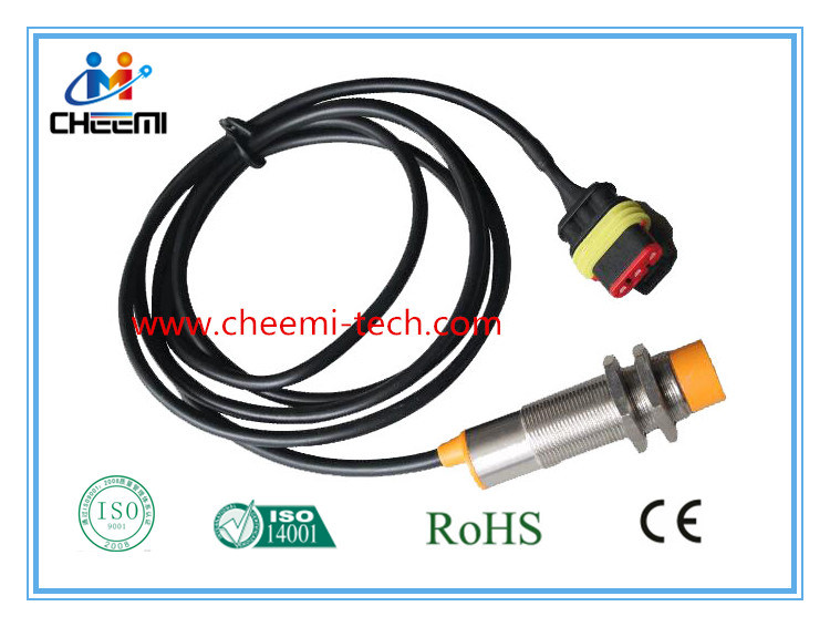 M18 Metal Non-Flush NPN 8mm Detection Inductance Proximity Switch Sensor